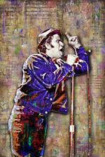 TOM WAITS 12x18in Poster Tom Waits Tribute Tom Waits Music Art Free Shipping