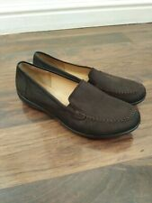 Hotter brown loafer shoes, size 9 excellent condition comfort shoes