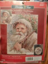 Holiday Time Christmas Traditions Grandfather Frost Cross Stitch Kit