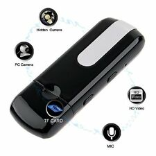 US Mini DVR U8 USB Disk HD Hidden Spy Pinhole Camera Detector Video Recorder NEW