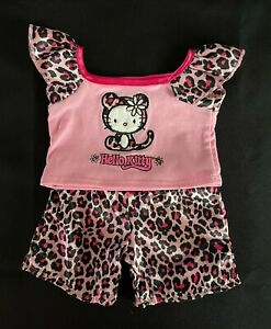 Build-A-Bear Pink Hello Kitty PJs **EXCELLENT CONDITION**
