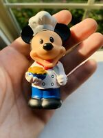 Fisher Price Little People Mickey Mouse Disney Chef Pie Cook Food