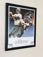NFL print , 20''x16'' frame, Framed American Football art, Dallas Cowboys print