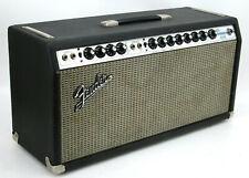1970 Silver Face Fender DUAL SHOWMAN REVERB Tube Amp Head