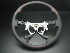 LEXUS Toyota LAND CRUISER FJ200 FJ-200 2008-2013 wood leather steering wheel