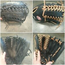 Baseball and Softball glove Complete Relace Cleaning/Conditioning Service