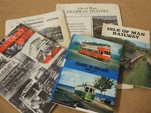 Assorted vintage Bus / Tram literature