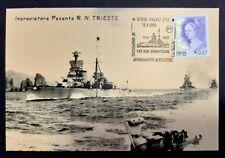 RARA cartolina Palau Sardegna affondamento incrociatore Trieste WW2 ottima!
