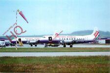 Picture Postcard--Aberdeen Airport, British World Viscounts G-Apey + G-Cszb