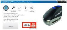 Oxford Screamer XA7 Disc Lock Alarm Motorbike Security Black LK279 OF229 Upgrade