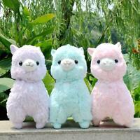 """Fresh"" Amuse Alpacasso PINK Yellow Purpel Blue Alpaca 45cm 35CM Plush Toy Gift"