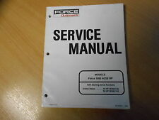 Shop Repair Service manual Outboards Force 40 / 50 HP (1995) Werkstatthandbuch