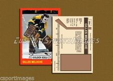 Gilles Meloche - California Golden Seals - Custom Hockey Card  - 1972-73