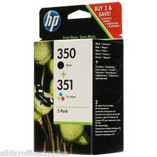 HP 350 Black & HP 351 Tri-Colour Pack For HP Photosmart C4480 - Vivera Inks