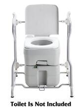 Portable Camping Chemical Toilet Frame With Armrest 20l 10l Camp RV Caravan