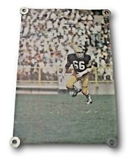 Very Rare Original 1969 Ray Nitschke Sports Illustrated Poster Green Bay Packers