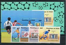 Niger 991/94 Block 49 + Sonderblöcke postfrisch / Fußball .................2/793