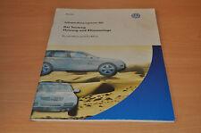 Selbststudienprogramm SSP 301 VW Der Touareg Heizung Klimaanlage Funktion