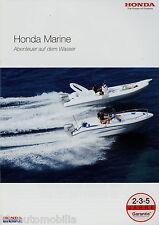 Honda Marine Prospekt 2007 2008 Aussenbordmotoren BF225 BF200 BF150 BF135