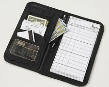 The only SERVER BOOK you will ever NEED!!! 86 any other Waiter Organizer Wallet.