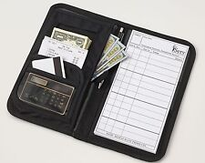Slim Waiter Book Waitstaff Organizer Server Wallet -highest quality- & FREE pad