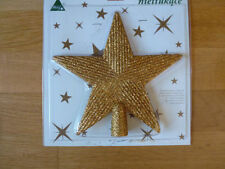 Christbaumschmuck aus Kunststoff mit Stern-Schliffform