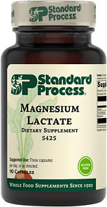 Standard Process Magnesium Lactate - Whole Food Energy, Bone, and Muscle with -