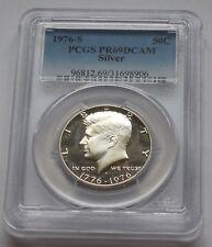 1976 S * SILVER * Kennedy Half Dollar  * PROOF * PCGS PR 69 DCAM