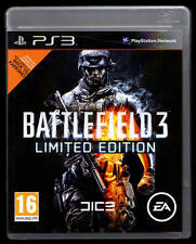 BATTLEFIELD 3 LIMITED EDITION FÜR PLAYSTATION 3 NEUW. INKL. ONLINE PASS