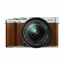 Near Mint! Fujifilm X-A1 with XC 16-50mm Brown - 1 year warranty