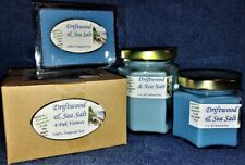 *NEW* Hand Poured Fresh Scents Soy Candles, Tarts & Votives - Driftwood Sea Salt