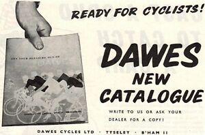 Vintage Dawes Cycles Advert - Original 1964