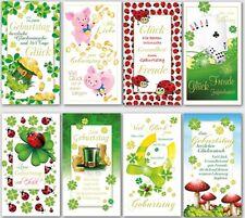 50 Geburtstagskarten Glückwunschkarten Grußkarten 510080 HI