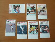 Guinea - Bissau Olympia 1992  Barcelona  Mi 1041 - 1047  postfrisch