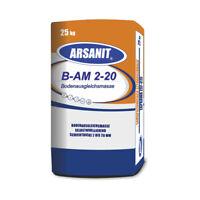 Nivelliermasse ARSANIT HQ Ausgleichsmasse 25kg selbstnivellierend für Boden
