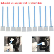 Neues Angebot10x/set 24mm*12.5cm Wet Sensor Cleaning Kit CMOS CCD Cleaner Swab Camera Lens QE