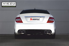 Akrapovic Mercedes C63 exhaust - Mercedes C63 AMG Exhaust Mufflers