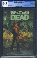 Walking Dead Deluxe 1 (Image) CGC 9.8 White Pages Variant Cover Reprints Issue 1