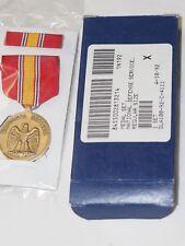 U.S.National Defense Service Medal Set Pendant w/ suspension & Ribbon in Box
