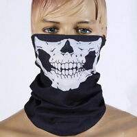 Full Function Skull Face Mask Ski Motorcycle Biker Scarf Snood Neck Bandana Bike