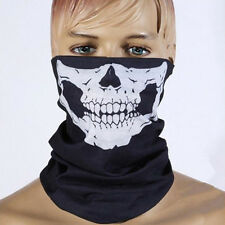 Full Function Skull Face Mask Ski Motorcycle Biker Scarf Snood Neck Bandana Bike