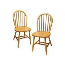Winsome Windsor Dining Chairs - Set of 2