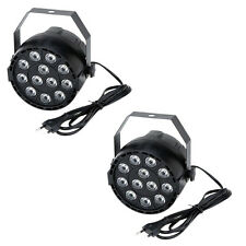 2x15W DMX-512 RGBW LED DJ Lichteffekt Disco Beleuchtung 8 Kanal Wechselstro A1L4