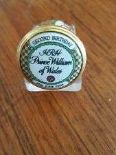 Halcyon Days Collectable enamel William 2nd Birthday