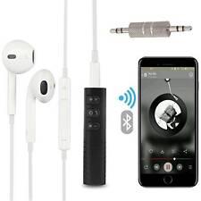 Wireless Bluetooth Car Kit Hands-free 3.5mm Jack AUX Audio Receiver Mini Adapter