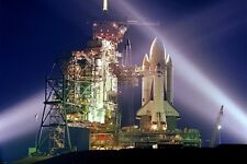 New 5x7 NASA Photo: Space Shuttle Columbia on Launch Pad before 1st Mission