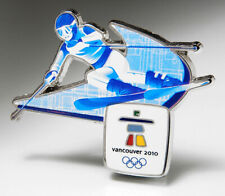 2010 VANCOUVER OLYMPIC PIN DOWNHILL SKIING 2022 BEIJING TRADER