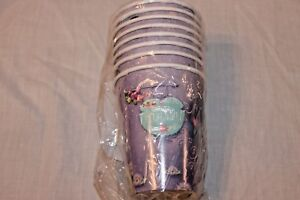NEW  IN PACKAGE THE PRINCESS AND THE FROG 8 PAPER CUPS   PARTY SUPPLIES