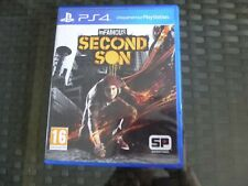 "JEU PS4 "" SECOND SON IN FAMOUS"" AVEC NOTICE A L INTERIEUR / IMPECCABLE ET NICKEL"