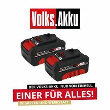 EINHELL 2x Ersatzakku 18 Volt PXC-Twinpack mit 4,0 Ah